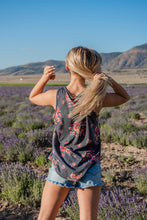 Load image into Gallery viewer, Blissful Beauty Floral Tank