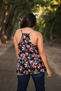 All Up To You Floral Tank