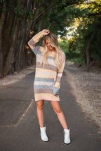 Load image into Gallery viewer, My Heart Beats Fast Sweater Dress