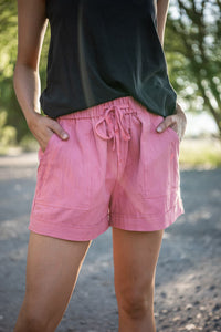 Summer Shorts Tencel Shorts