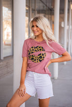 Load image into Gallery viewer, Leopard Lips Graphic Tee