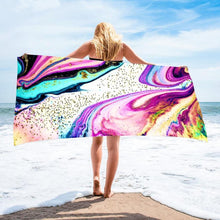 Load image into Gallery viewer, Geode Rectangle Microfiber Towel