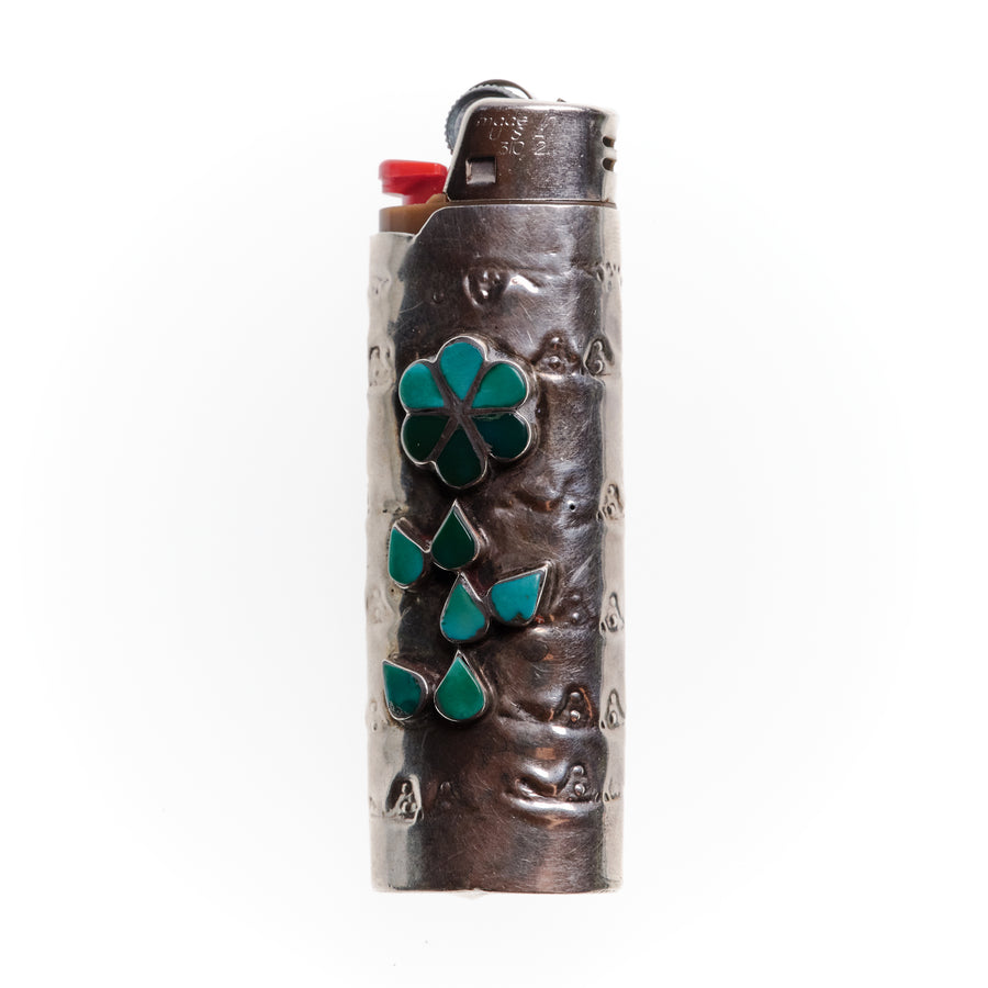 1950s FLOWER LIGHTER SLEEVE