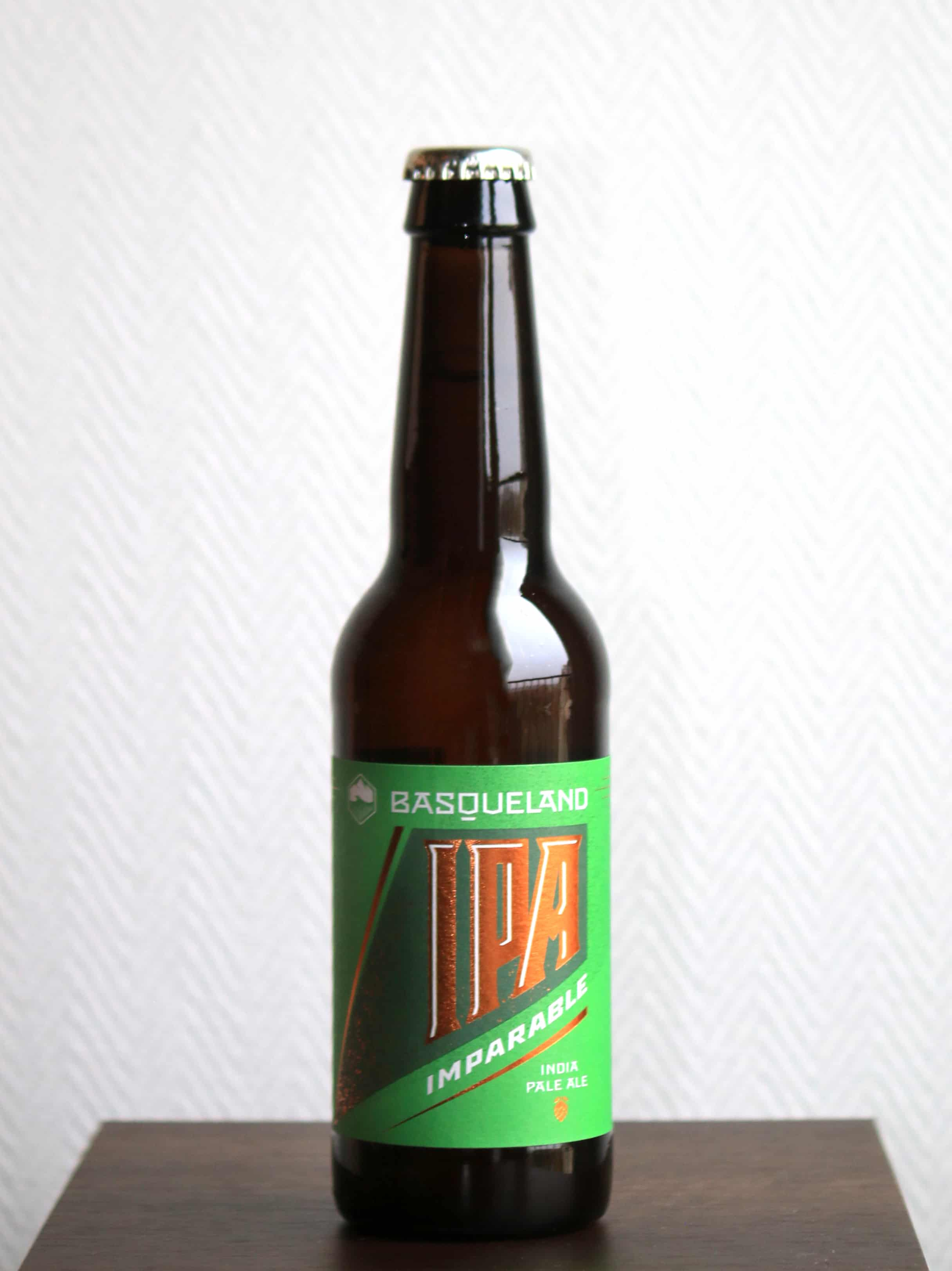 Basqueland Brewing Project, Imparable IPA 33 cL (Espagne - India Pale Ale) - La Petite Barrique