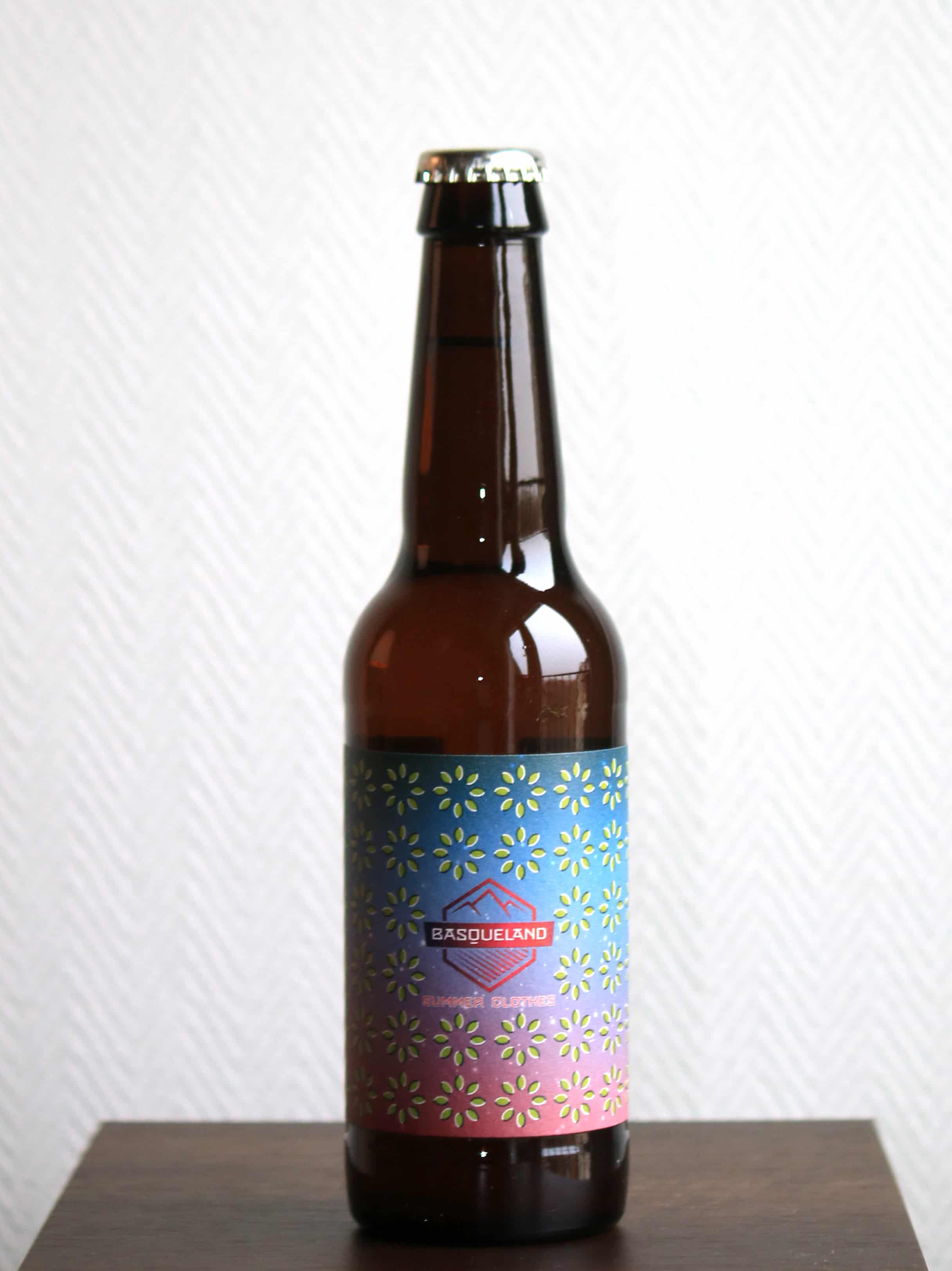 Basqueland Brewing Project, Summer Clothes 33 cL (Espagne - Saison) - de Viry Stanislas