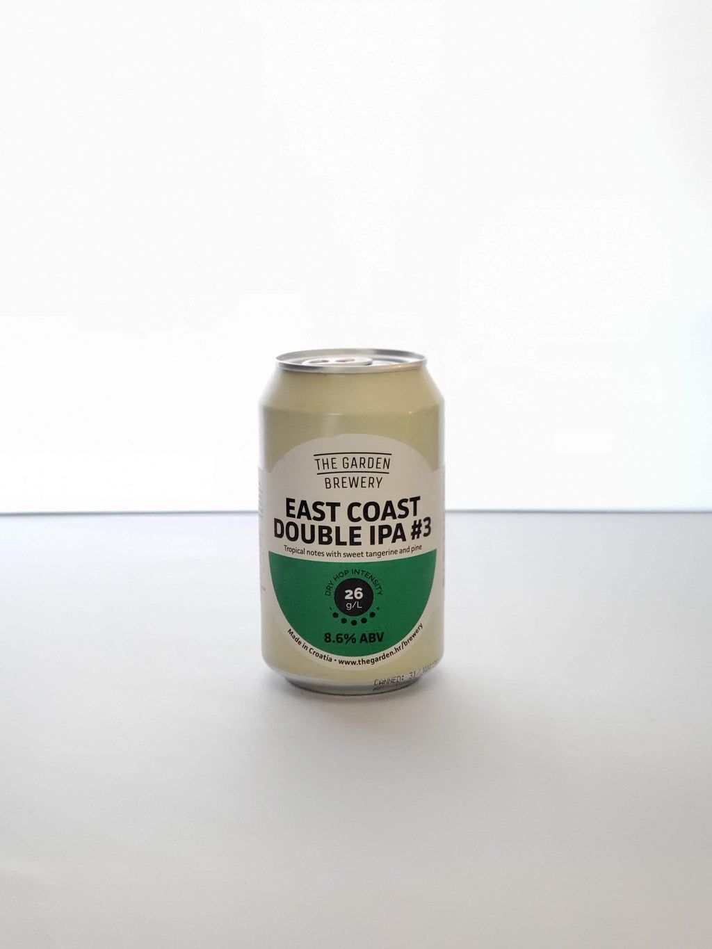 The Garden Brewery, East Coast Double IPA (Croatie, Imperial IPA) - La Petite Barrique