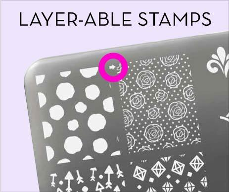 Layer-able Stamps