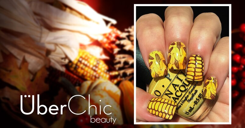 Impress Your Relatives With Thanksgiving Themed Nails