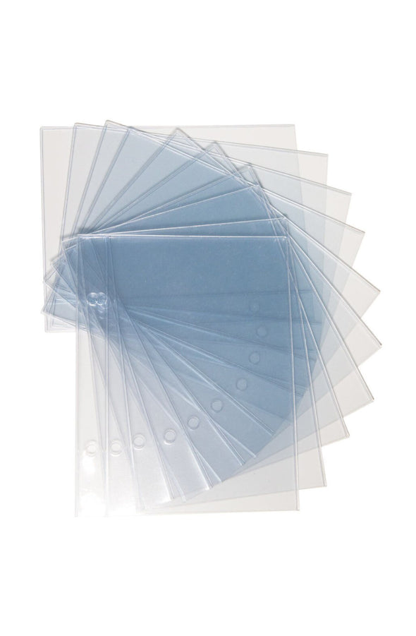 Holographic Storage Binder Refill Pages - Pack of 10