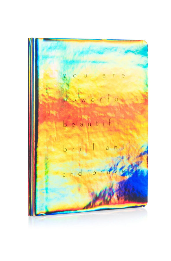 Holo-Flexible Faux Leather Holographic Journal