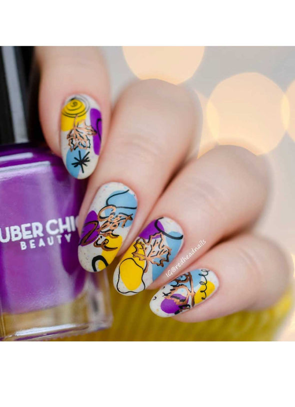 Where The Wildflowers Grow - Stamping Polish