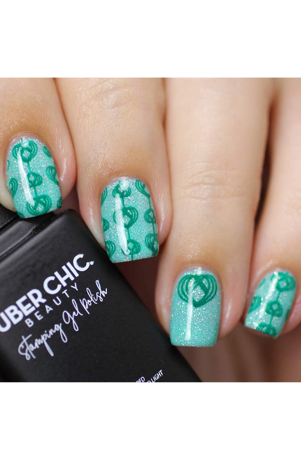 Green Come True - Stamping Gel Polish
