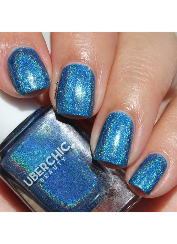 Teal We Meet Again - Holographic Polish
