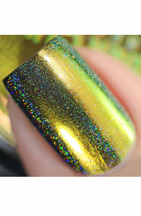 Chameleon Holographic Nail Powder: Amazon Princess