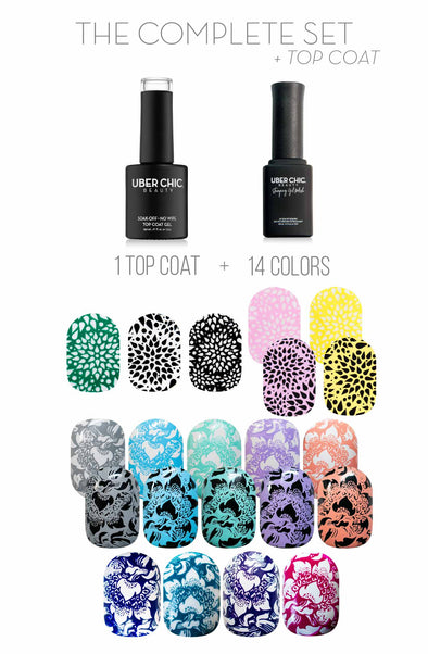 Complete Set: Stamping Gel Polish Bundle