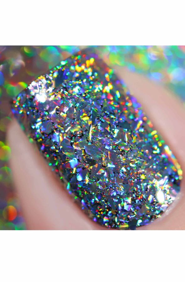 Galaxy Holographic Flakes