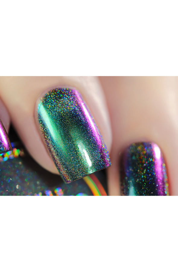 Chameleon Holographic Nail Powder: Jewel of the Nile