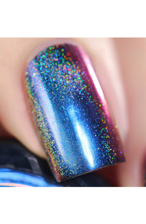 Chameleon Holographic Nail Powder: Royalty Suits Me