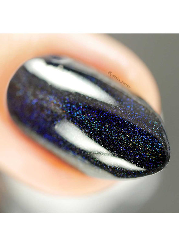 Say BOO and Scary On - Holographic Polish