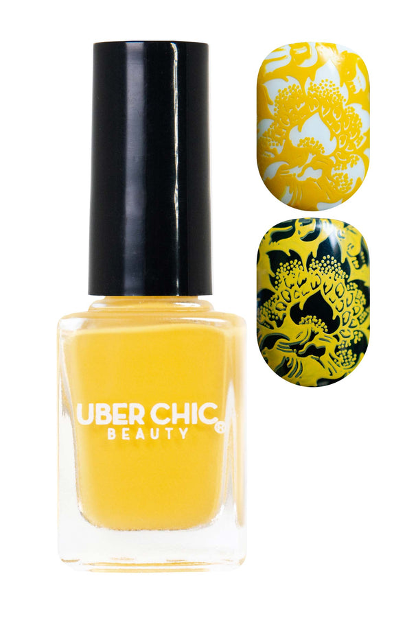 Lazy Little Bumblebee - Stamping Polish