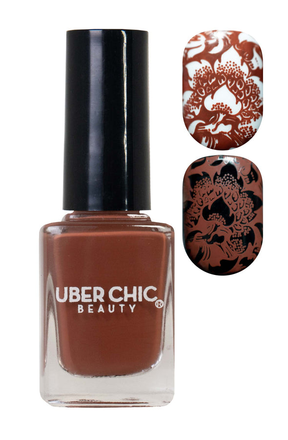 You Had Me At Chocolate - Stamping Polish