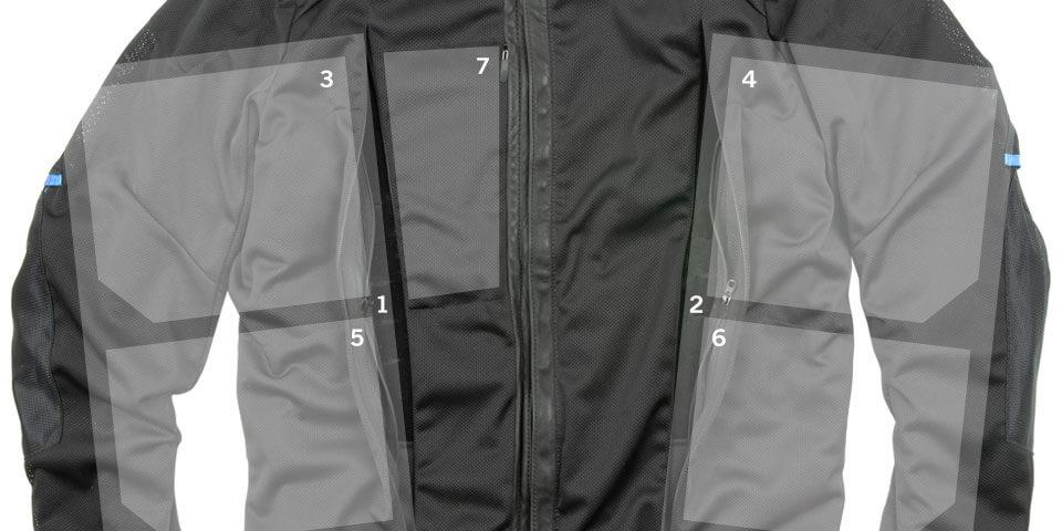 Circuit Moto Jacket Inside Pockets