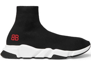 Balenciaga Speed Trainer Mr. Porter Black