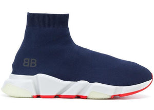 Balenciaga Speed Trainer Bleu Orange