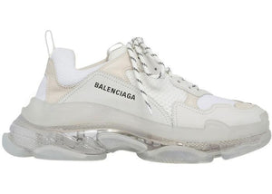 Balenciaga Triple S Clear Sole Blanc