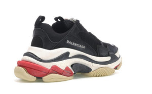 Balenciaga Triple S Black Blanc & Rose