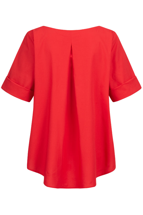 Nora Blouse Red