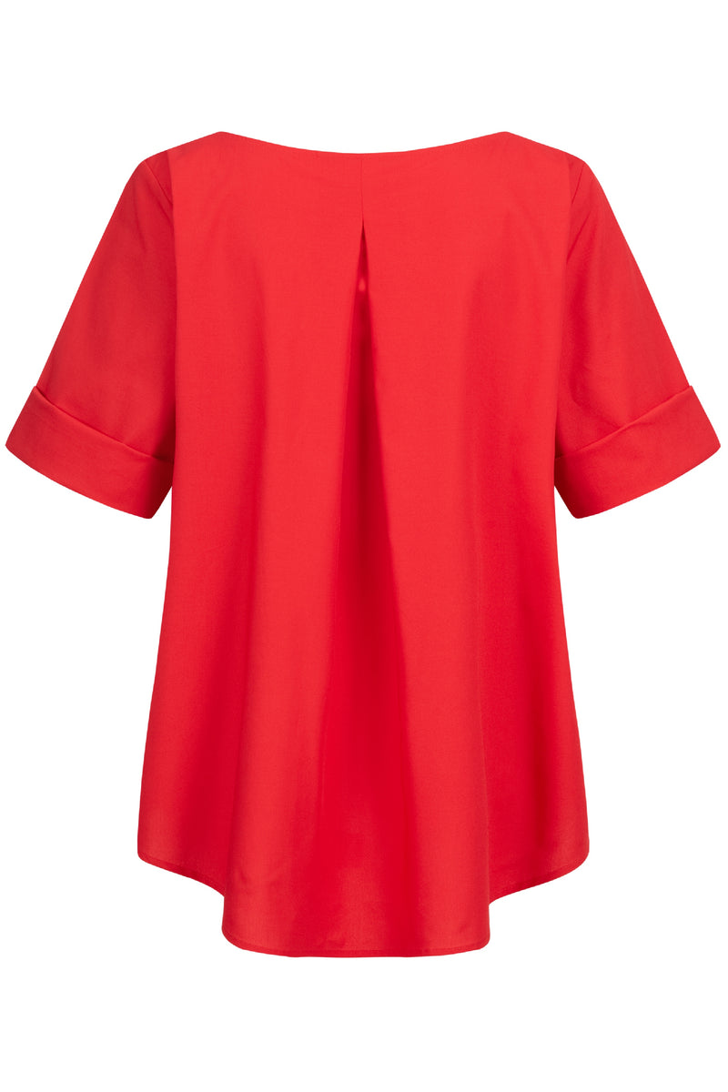 Nora Bluse Rot