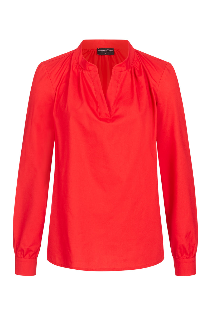 Tunic Blouse Red