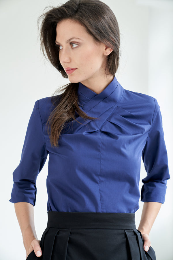 Fiona Blouse Blue