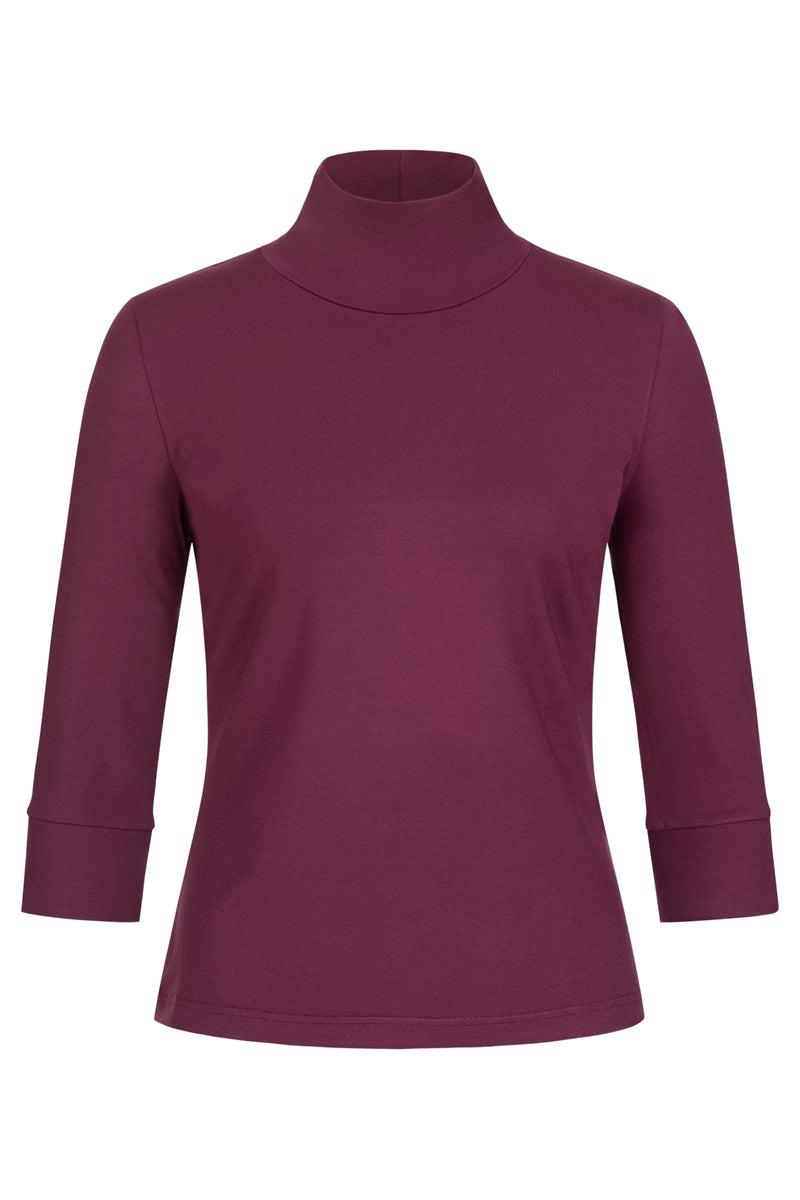 Pia Turtleneck Berry