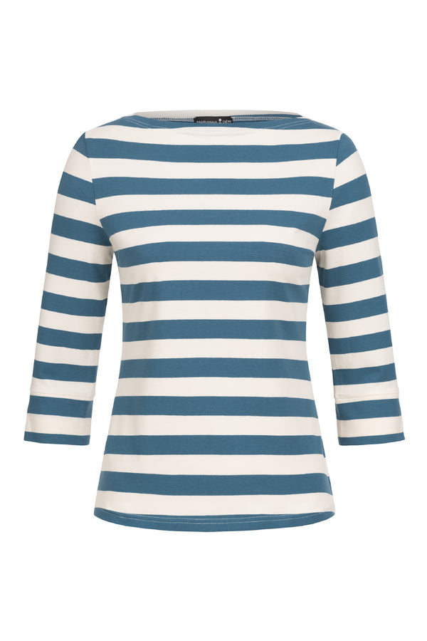 Anna Top Blau Gestreift
