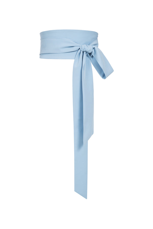 Bea Tie Belt Light Blue