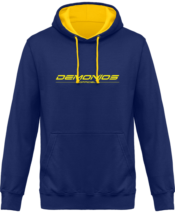 Sweat Capuche Bicolore