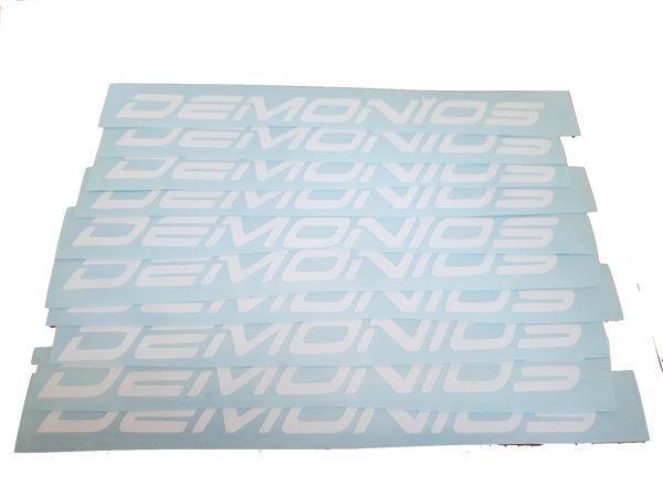 Stickers Demonios Blanc (ANCIEN LOGO)