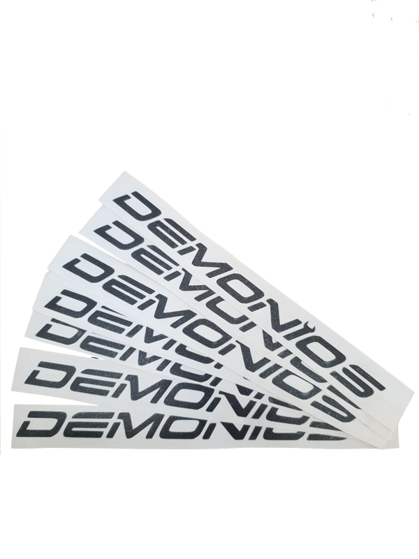 Stickers Demonios Noir (ANCIEN LOGO)