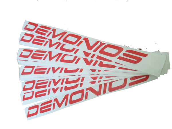 Stickers Demonios Rouge (ANCIEN LOGO)