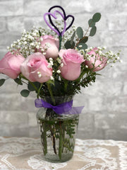 A15 - Pink Rose Arrangement