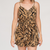 Button Front Zebra Romper