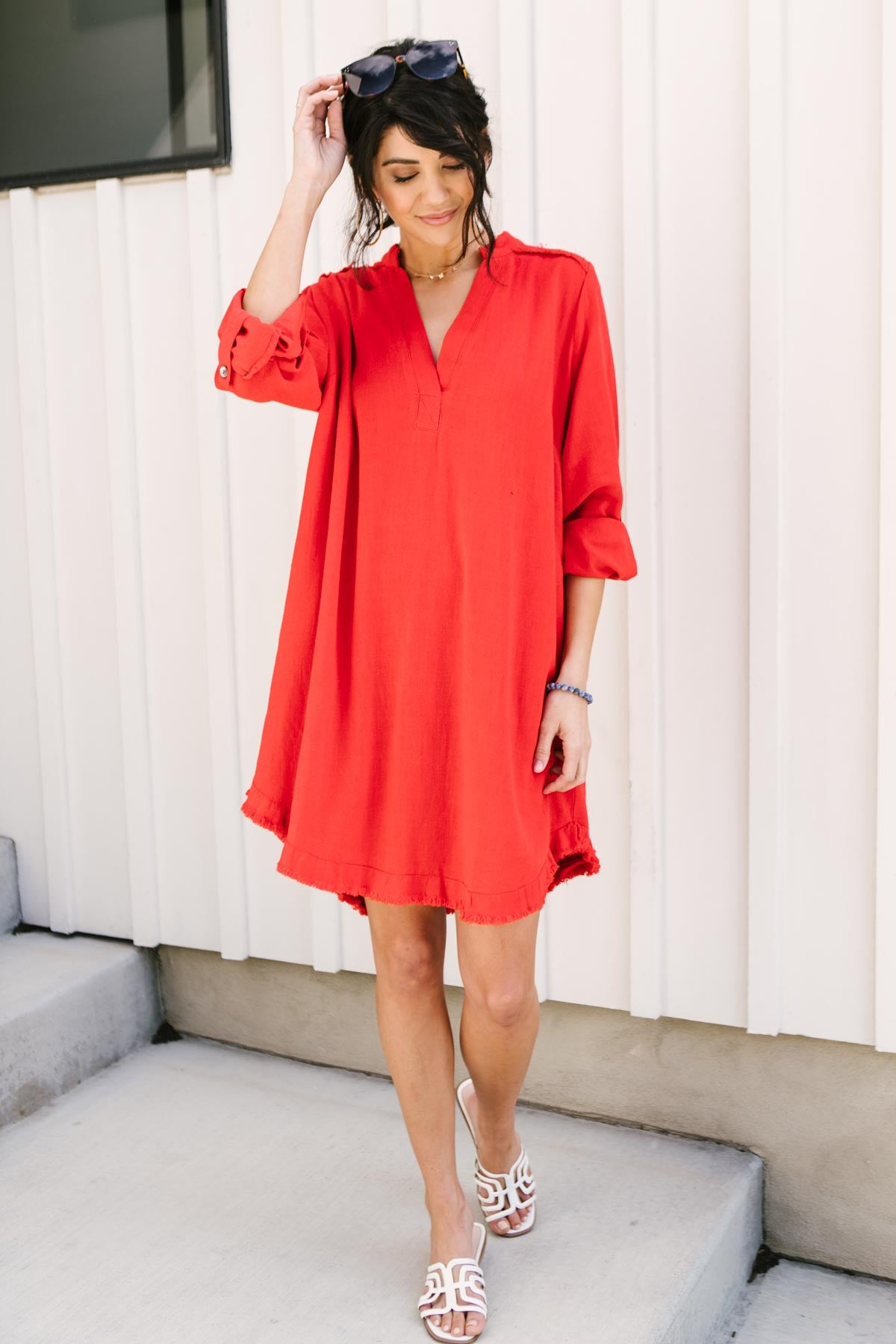 Fireside Chats Dress-Ave Shops-Avis Lane Boutique-Justin, Texas