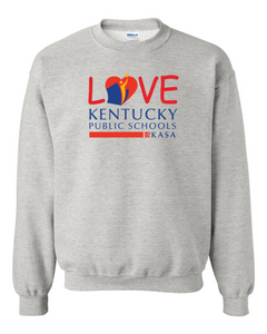 Love Kentucky Public Schools Sweatshirt - Ash
