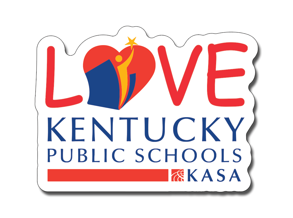 Love Kentucky Public Schools - Decal