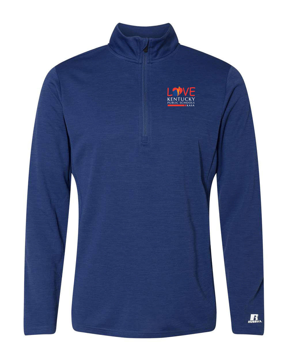 Love Kentucky Public Schools - Quarter Zip Mens