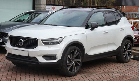 New Volvo XC40 in a carpark.