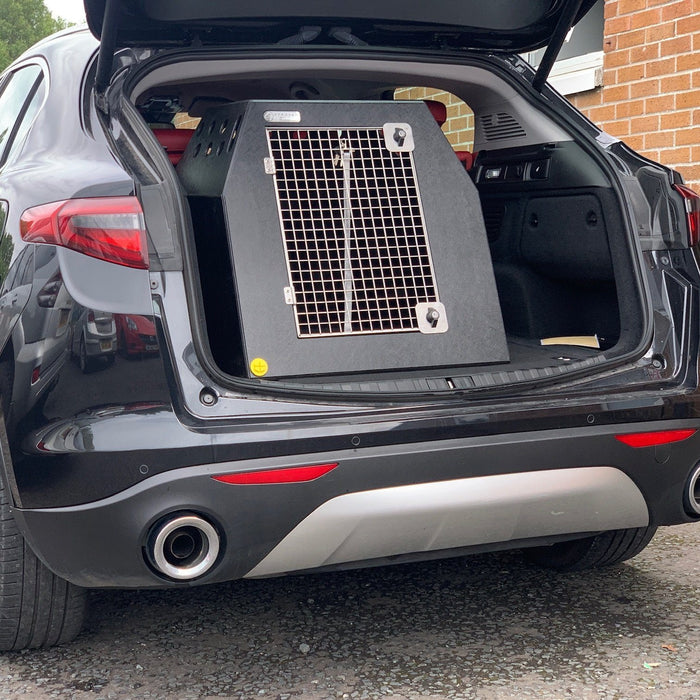 Alfa Romeo Stelvio 2017- Present Car Travel Crate - The DT 4 Single DT Box DT BOXES