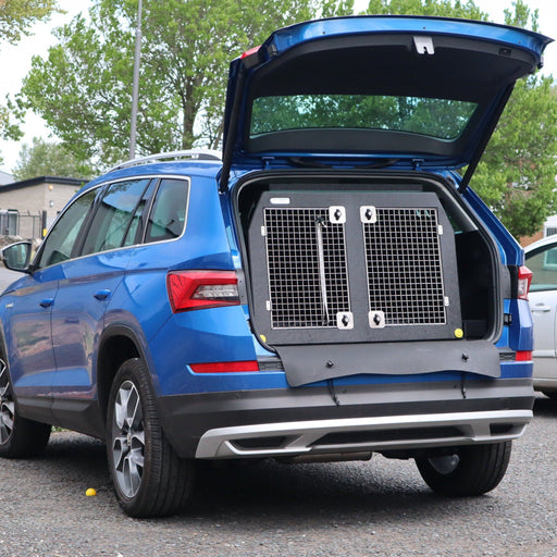 Dog Crate for the Skoda Kodiaq 2016–present | DT 3 DT Box DT BOXES 980mm